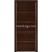 Flush Door with Groove