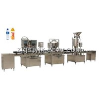 fruit juice straight filling line