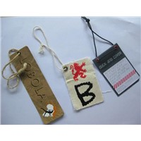 garment accessories hang tag