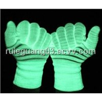 LED Luminous Glow in the Dark Gloves