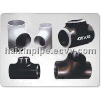oil and gas pipe fittings,butt welding carbon steel tee