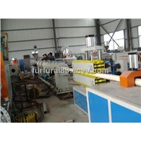pvc pipe extruder machinery