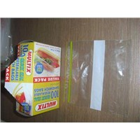 Quick Seal Reclosable Sandwich Bags