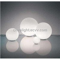 Round Ball Glass Table Lamp