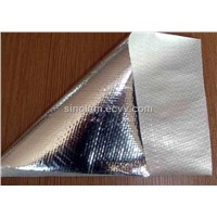 Sinolam Reflective radiant barrier foil insulation:Aluminum Woven Finish