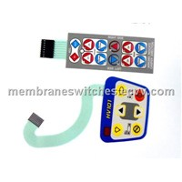 Waterproof Membrane Switch Keypads