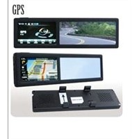 GPS Rear View Mirror