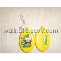 PVC Coin Bag, Wallet, Key Bag