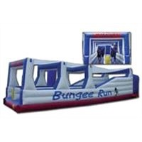 Bungee Run Obstacle Course