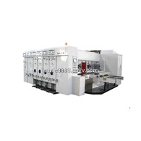 High Speed Automatic Flexo Printing and Slotting Machine