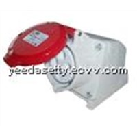 Industrial socket Mobile Type in Red