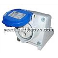 industrial socket with protection class IP44