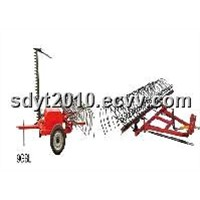 9GBL mower and Rake