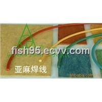 Linoleum flooring welding rod