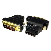 Wholesale DVI-D Male to HDMI Female Adapter HDMI Converter