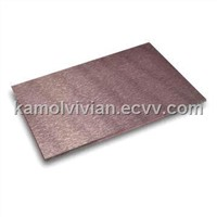 0.18-0.60mm Brushed Aluminum Composite Panel for Kitchen Decorations