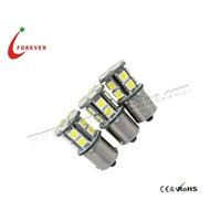 1156 car LED bulb 5050*16PCS Flat foot bronze head 8-30V White