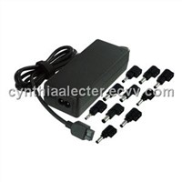 120W AC Universal Laptop/Notebook Adapter with output 15~24V with 8 Tips/12 Tips and 5V 2A-USB port