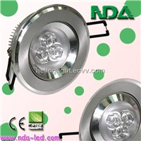 1*1W LED High-power ceiling lamps
