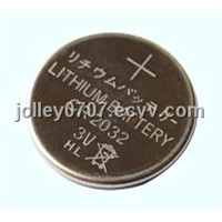3V Lithium Button Cell Batteries CR2032---RoHS