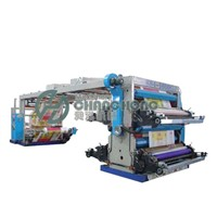 4 Color PP Woven Flexographic Printing Machine