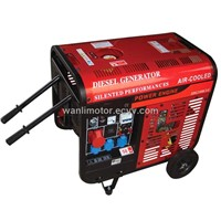5KVA Air Cooled Diesel Generator Set