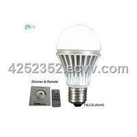 6W dimmable bulb light