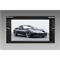 "6.2""Two Din Touch Screen With DVD/USB/SD/BT/AM/FM   Digital TV/iPod/iPhone/Karaoke,RDS,GPS Optional"