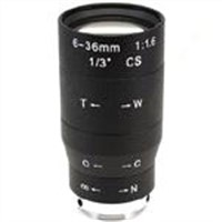 6-36mm F1.6 Manual Vari-focal Manual Iris