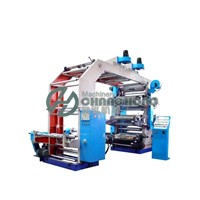 6 Colors Tissue Paper Flexographic Printing Machine