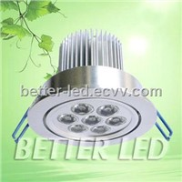 7W LED Down Light with Three Years Quality Warrance (Ce & Rohs)