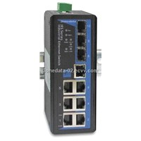 7+3G-port Gigabit WEB Managed Industrial Ethernet Switch