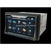 "7"" Two Din Digital Panel In Dash With DVD/USB/SD/BT/FM/RADIO Optional:IPOD/GPS/TV"