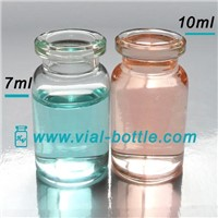 7ml empty glass bottle for injectable steroids