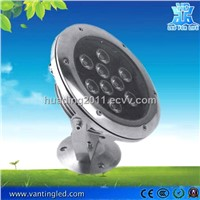 9W Round High Power LED Underwater Light