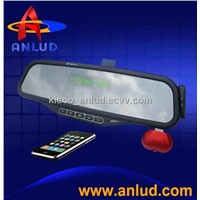 ALD08-Bluetooth Rearview Mirror Support MP3 Player Car FM Transmitter