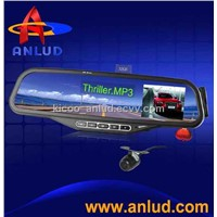 ALD100-bluetooth mirror with 2.5' wireless reverse parking camera car parking system
