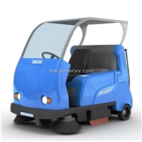 Drive-on Electric Industrial Sweeper (ASD -1600)