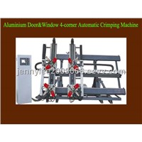 Aluminium Door and Window 4-corner Automatic Crimping Machine