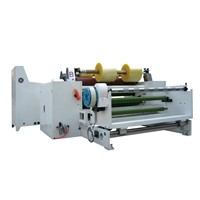 Aluminium foil slitting machine
