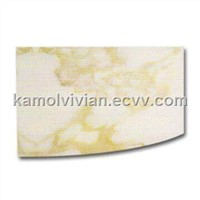 Aluminum Composite Panel, Sized 1,220 x 2,440mm, Impact and Fire-resistance