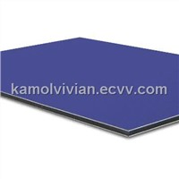 Aluminum Composite Panel with Nontoxic Polyethylene Core and Smooth PE Coating Surface