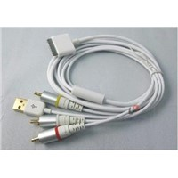 Apple ipod iphone ipad Component AV Cable, Mobile Accessories