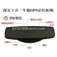 Auto Rearview Mirror 3G Camera for Car GPS Positioning