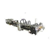 Automatic Folder Gluer and Strapping Machine