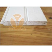 Building material, wooden mouldings,wainscot/ply cap, flat astragals, screen, S4S,
