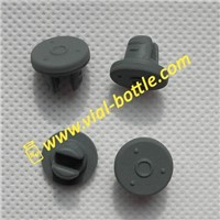 Butyl rubber stopper for injectable freeze-dry asepsis powder bottle
