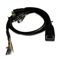 CCTV IP Network Box Camera Cable