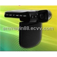 "Car DVR camera 270 degree rotatable 2.5"" TFT LCD Screen"