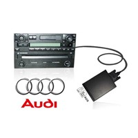 Car MP3 Adapter Digital music cd changer with USB+SD for Audi 8pin A2/A4/S4/A6/S6/A8/S8/ AllRoad/ TT